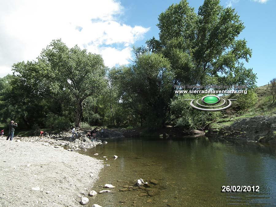 Balneario Los Angelitos en Sierra de la Ventana