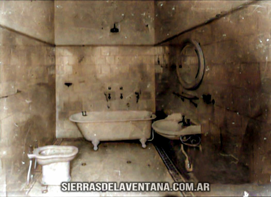 baños del ex club hotel de la ventana