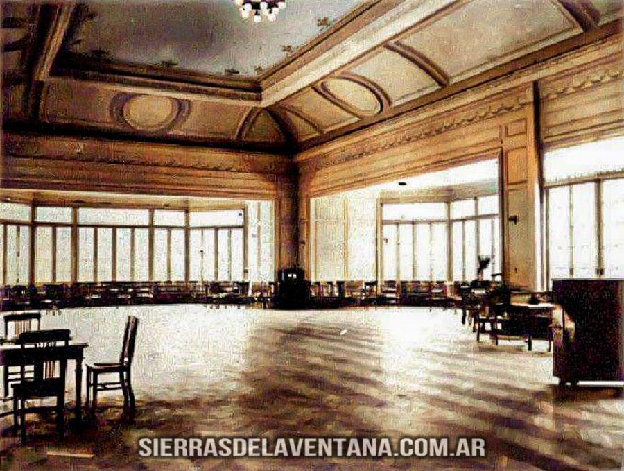 salón del ex club hotel de la ventana