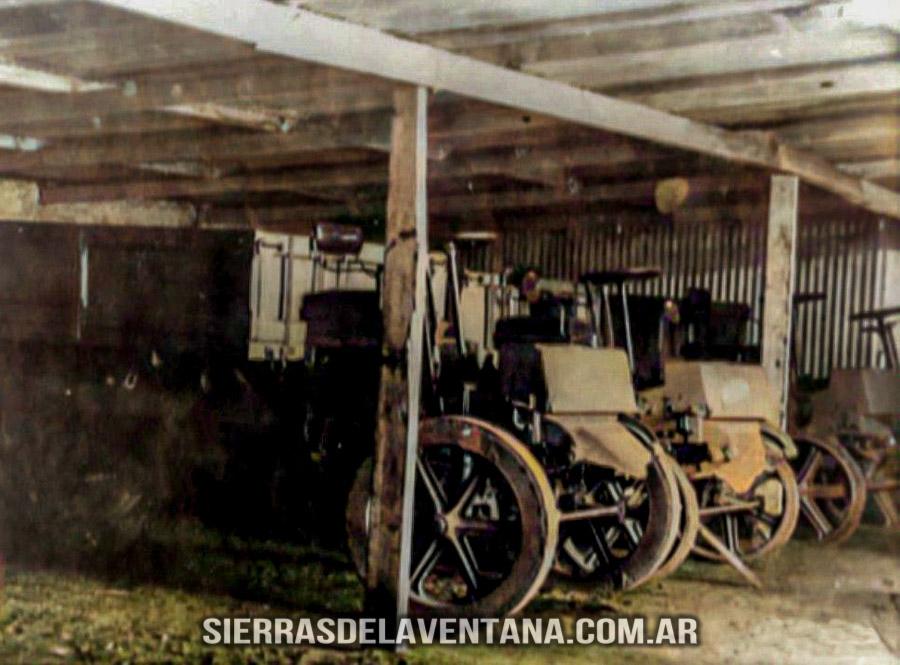 vehículos en el ex club hotel de la ventana
