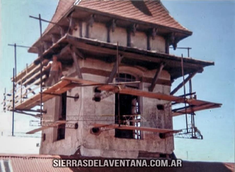 Torre del ex club hotel de la ventana