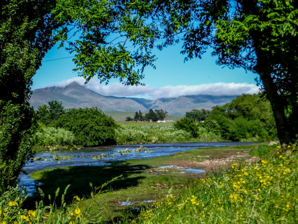 Dique San Bernardo en Sierra de la Ventana