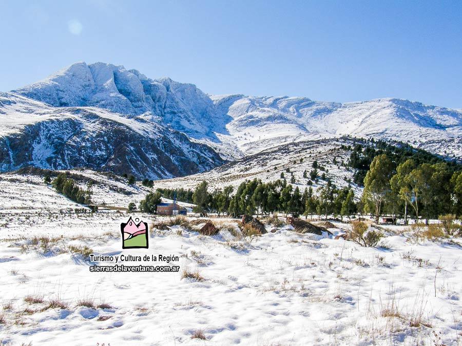 Nevadas en las Sierras de la Ventana