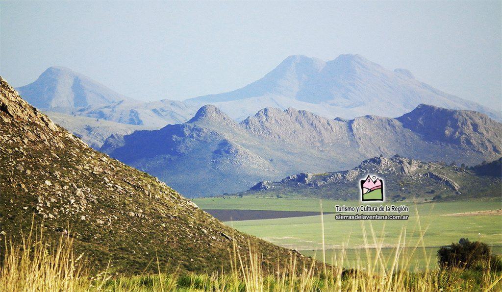 Cerro Tres Picos en Sierra de la Ventana