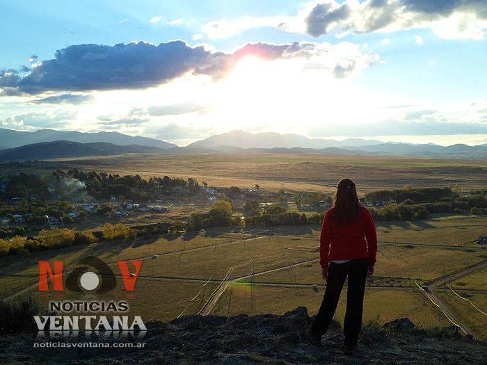 Vista desde el Cerro del Amor en Sierra de la Ventana