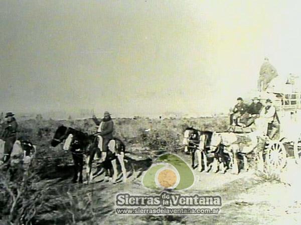 Colonos en Sierra de la Ventana