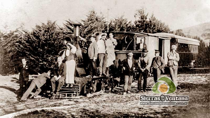 Locomotora de la Trochita de Sierra de la Ventana