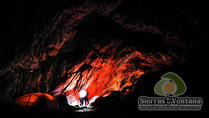 Cueva de los Guanacos en Sierra de la Ventana