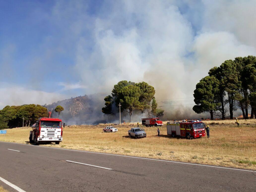 Incendio en las Sierras 2018