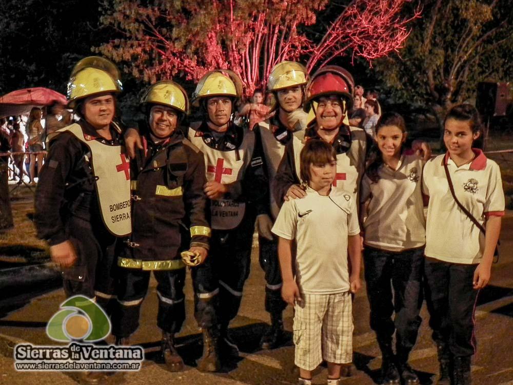 Bomberos Voluntarios Sierra de la Ventana