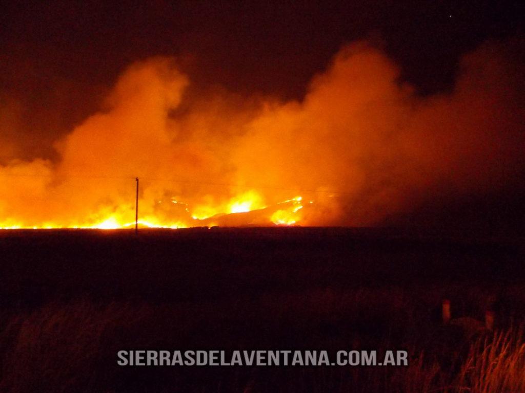 Incendio 2013 Sierra de la Ventana
